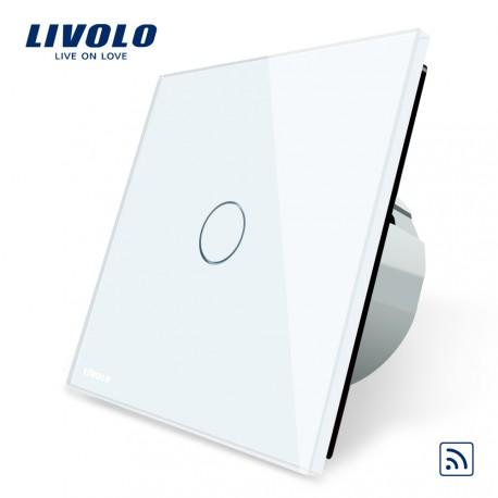 Livolo Луксозен ключ,  Кристално стъкло ,С дистанционно управление , 1 ключ, 1 посока