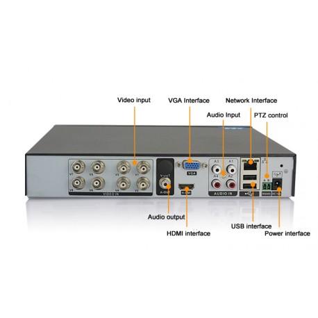 AHD цифров DVR  16 канален