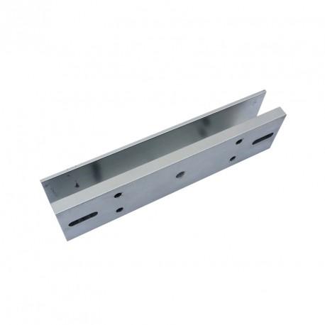 Планка за монтаж на електромагнит 280 кг. върху стъклена врата