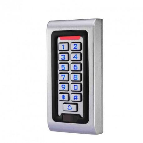 Вандалоустойчива и водоустойчив RFID 125kHz система за контрол на достъп с клавиатура и чип
