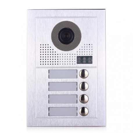 Видеодомофонно табло 2 проводно, 4 абонат
