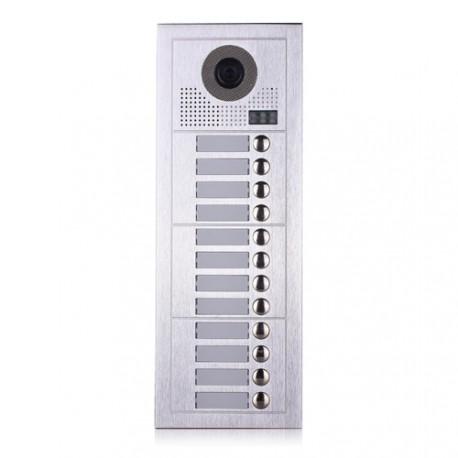 Видеодомофонно табло 2 проводно, 12 абоната