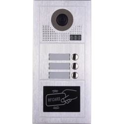 Видеодомофонно табло 2 проводно, 8 абонат, RFID четец