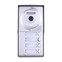 Видеодомофонно табло 2 проводно, 6 абонат
