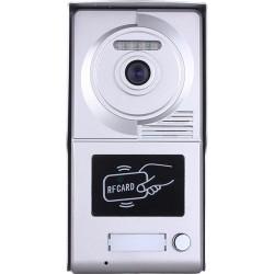 Видеодомофонно табло 2 проводно, 1 абонат, RFID четец